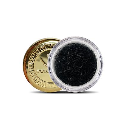 Dolce Vita, Ресницы в баночке DV Extension Deluxe Diamond 0,2/10, изгиб B натуральный
