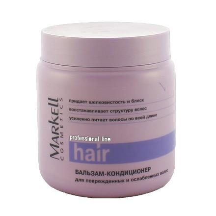 Markell, Бальзам-кондиционер для поврежденных и ослабленных волос «Professional», 500 мл