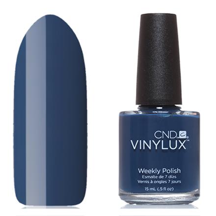 CND Vinylux, цвет 257 Winter NightsCND Vinylux<br>Профессиональный лак (15 мл) насыщенный темно-синий, без перламутра и блесток, плотный.
