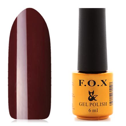 FOX, Гель-лак Pigment №408F.O.X<br>Гель-лак (6 мл) каштановый, без перламутра и блесток, плотный.<br><br>Цвет: Коричневый<br>Объем мл: 6.00