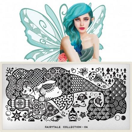 MoYou-London, Плитка для стемпинга Fairytale Collection 06 moyou london плитка для стемпинга fairytale collection 12