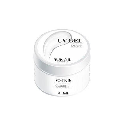 ruNail, Базовый UV-гель, 15 г runail базовый uv гель 15 г