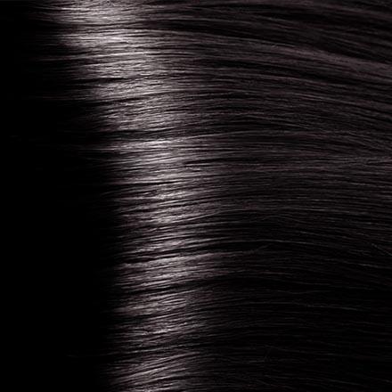 Kapous, Крем-краска для волос Hyaluronic 4.8, коричневый какао, 100 мл краска для волос kapous professional hyaluronic acid hair color серебро