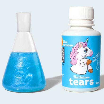 The Unicorn, Сироп Tears Blue Curacao, голубой, 100 мл