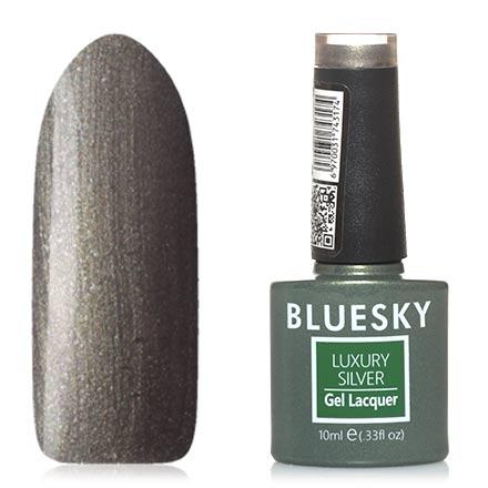 Купить Bluesky, Гель-лак Luxury Silver №637, Зеленый