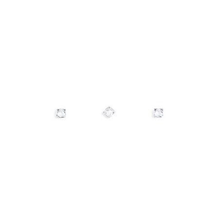 Купить TNL, Кристаллы «Принцесса» №2, прозрачные, 10 шт., TNL Professional