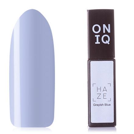 Купить ONIQ, Гель-лак Haze №088s, Grayish Blue, Черный