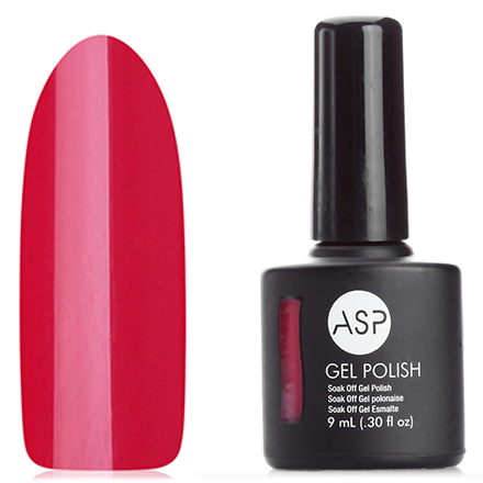 All Season Nails, ASP Гель-Лак для ногтей RILE ME UP RED