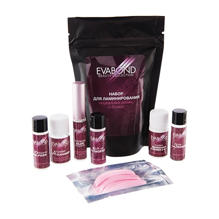Irisk, Набор для ламинирования ресниц и бровей Eva Bond Beauty Collection