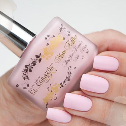El Corazon, Matte Effect, № 111 16 млEl Corazon <br>Светло-розовый, без блесток и перламутра, матовый, плотный.<br><br>Цвет: Розовый<br>Объем мл: 16.00