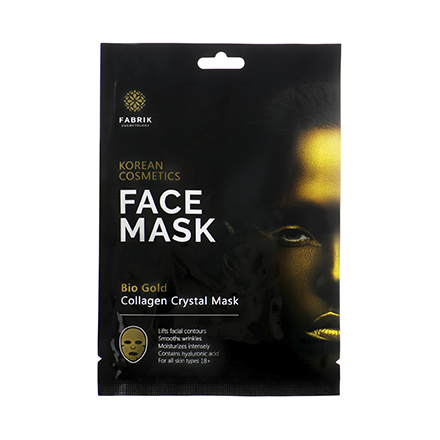 Fabrik Cosmetology, Коллагеновая маска для лица с биозолотом, 50 г фото