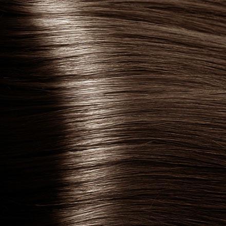 Kapous, Крем-краска для волос Hyaluronic 6.81, темный блондин капучино пепельный, 100 мл black sintesis colore creme крем краска для волос 6 52 темный блондин красно фиолетовый black
