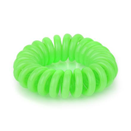 Резинка для волос силиконовая, зеленая