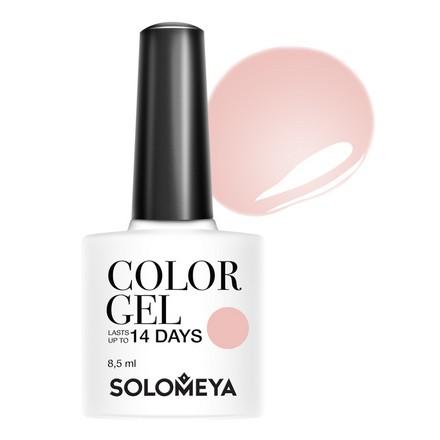 Купить Solomeya, Гель-лак №115, Сhic nude, Wella Professionals, Розовый