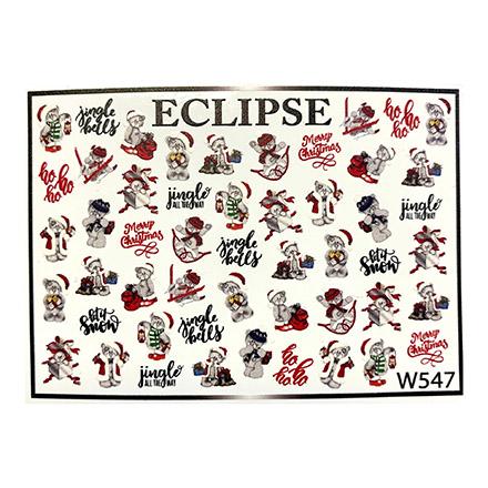 Купить Eclipse, Слайдер-дизайн для ногтей W №547