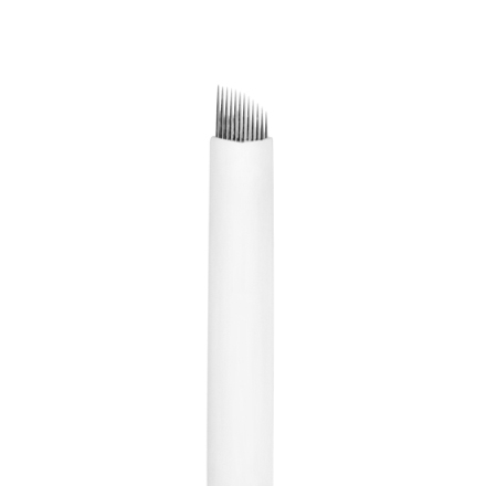 IRISK, Игла одноразовая для татуажа S12, D=0,25 ммПерманентный татуаж бровей<br>Используется для проработки волосков в технике мануального микропигментирования бровей.