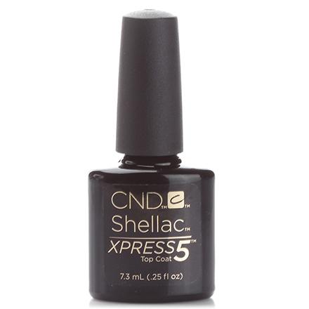 CND, Топ, Top Coat Xpress5, 7,3 мл (Подарок) cnd топ top coat xpress5 15 мл