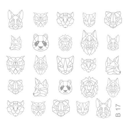 Milv, Слайдер-дизайн для росписи ногтей B17