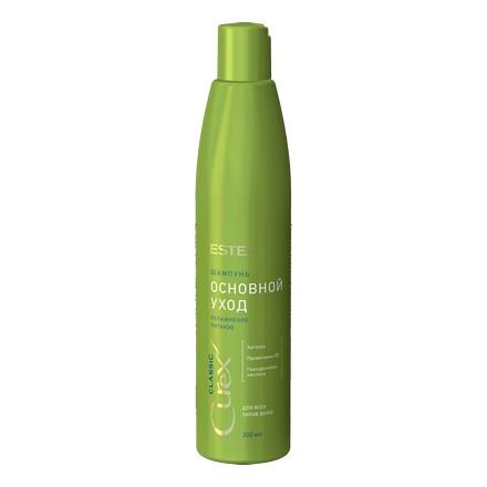 Estel, Шампунь Curex Classic увлажнение и питание, 300 млШампуни для волос<br>Шампунь для всех типов волос. Делает волосы здоровыми и крепкими, питает и увлажняет их.<br><br>Объем мл: 300.00