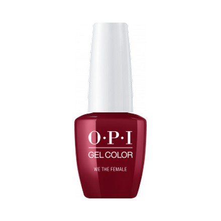 OPI GelColor, Гель-лак We the Female opi gelcolor гель лак fearlessly alice