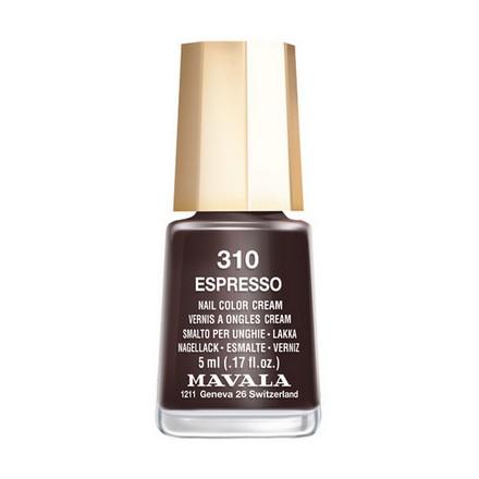 Mavala, Лак для ногтей №310, EspressoMavala<br>Лак для ногтей (5 мл). Точное описание цвета появится в ближайшее время.