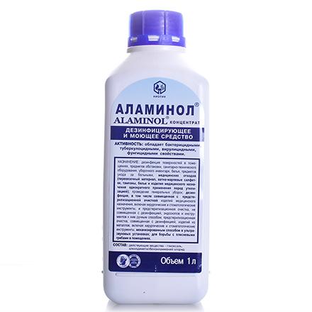 Дезинфектор Аламинол, 1 л
