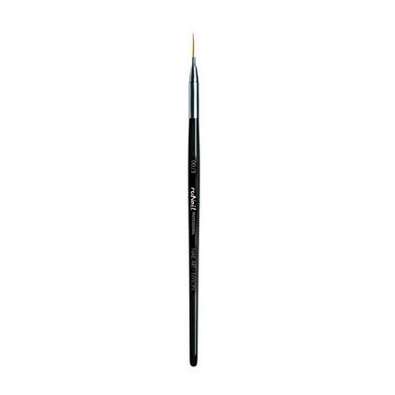 Купить RuNail, Кисть для дизайна Nail Art Nylon №00/3, 5 мм