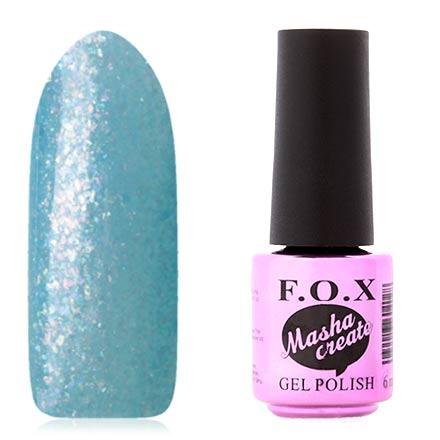F.O.X, Гель-лак Masha Create Pigment №919 куртка голубого цвета brums ут 00008775
