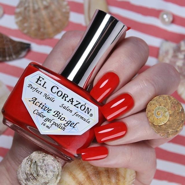 Купить El Corazon, Активный биогель Cream, №423/352, Красный