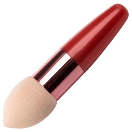 Irisk, Beauty Sculptor, Кисть-спонж для макияжа каплевидная (оранжевая) (IRISK)