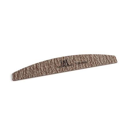 TNL, Пилка экстра-класс, лодочка, коричневая, 100/100Пилки для искусственных ногтей<br>Профессиональная пилка для искусственных ногтей с двумя рабочими сторонами, каждая из которых имеет абразивность.<br>