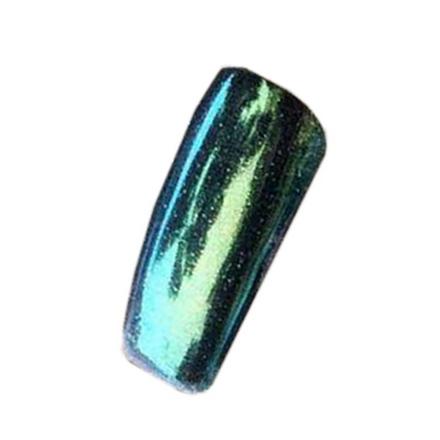 Blixz, Втирка «Зеркальный блеск», зеленый металлик от KRASOTKAPRO.RU