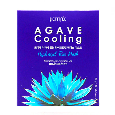 Petitfee, Маска для лица Agave Cooling, 32 г 2017 good water solubility factory supply eggplant powder eggplant extract eggplant extract powder 1kg bag free shipping