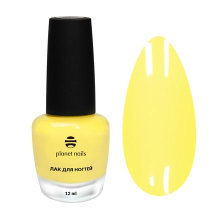 Planet Nails, Лак для ногтей №875 зеленого цвета