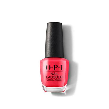 Купить OPI, Лак для ногтей Classic, OPI On Collins Ave, Красный
