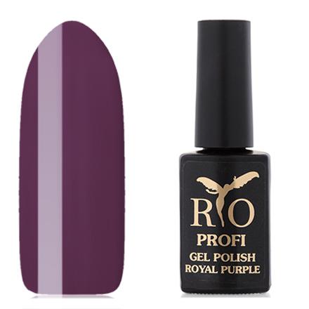 Rio Profi, Гель-лак «Royal Purple» №8, Мантия Монарха rio profi гель лак 83 королевский дракон
