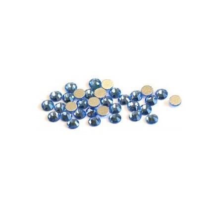 TNL, Стразы 2 мм голубые, 50 шт.