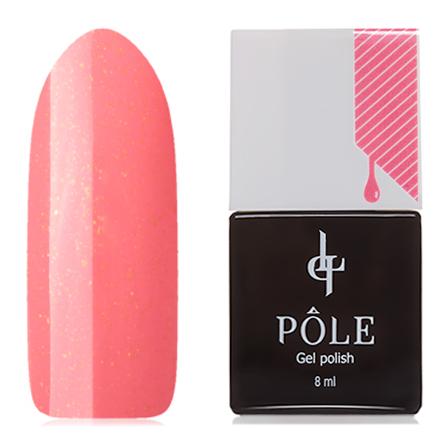 POLE, Гель-лак №320, Коралловые сныPOLE<br>Гель-лак (8 мл) кораллово-розовый, с золотистыми микроблестками, плотный.<br><br>Цвет: Оранжевый<br>Объем мл: 8.00