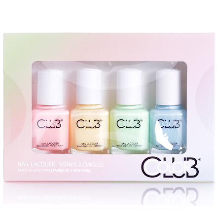 Color Club, 4 Piece Mini Poptastic Pastel Neon Mini Gift Set