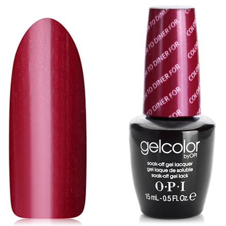 OPI GelColor, Гель-лак Color To Diner For T25