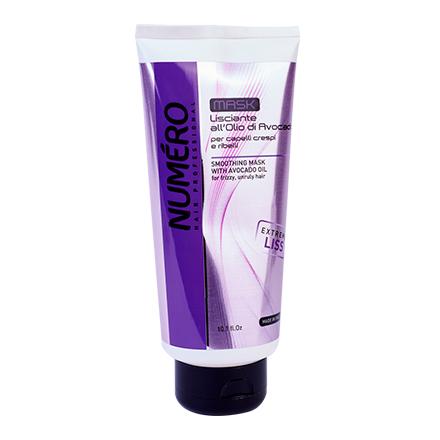 Brelil Professional, Маска для волос Numero Smoothing, 300 мл brelil numero liss маска разглаживающая с маслом авокадо для пушистых и непослушных волос 300 мл