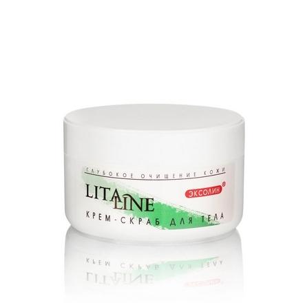 LitaLine, Крем-скраб для тела, 200 млСкрабы и пилинги<br>Средство для глубокого очищения кожи.