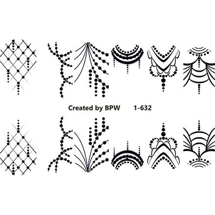 BPW.Style, Слайдер-дизайн «Узоры» №1-632 фото