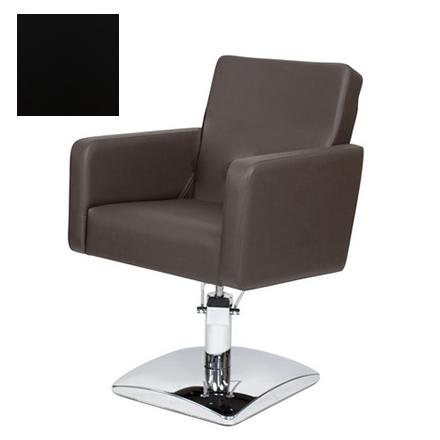 Купить Мэдисон, Кресло парикмахерское «МД-165» гидравлическое, хромированное, черное