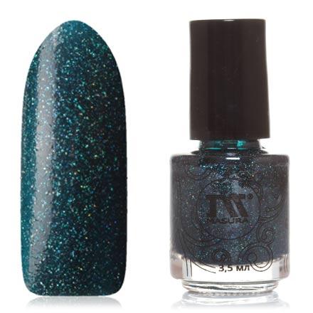Masura, Лак для ногтей «Золотая коллекция», ApologizeMasura<br>Лак для ногтей (3,5 мл) сине-зеленый, с голографическими микроблестками, плотный.<br><br>Цвет: Зеленый<br>Объем мл: 3.50