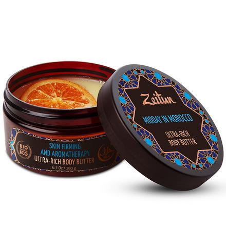Zeitun, Крем-масло для тела «Марокканский полдень», 200 мл крем масло zeitun зейтун крем масло для подтяжки кожи марокканский полдень банка 200 мл