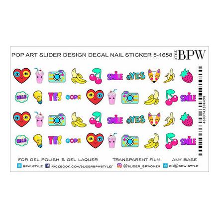 Купить BPW.style, Слайдер-дизайн Pop Art 4 №5-1658
