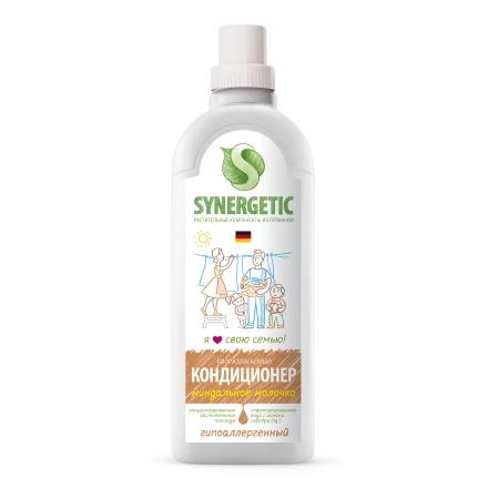 Synergetic, Кондиционер для белья «Миндальное молочко», 1 л  - Купить