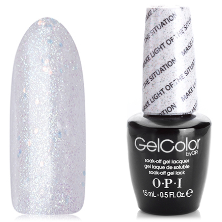 OPI GelColor, Гель-лак Make Light of the Situation T68