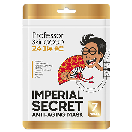 Professor SkinGOOD, Маска для лица Imperial Secret Anti-Aging, 7 шт.